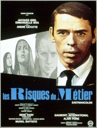 Les risques du métierLes Risques du métier est un film dramatique français réalisé par André Cayatte, sorti en 1967. Il traite le sujet de l'accusation injuste de pédophilie.