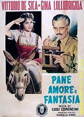 Pain, Amour et fantaisie Le maréchal des logis Antonio Carotenuto est nommé dans les Abruzzes, où il tombe amoureux de la belle Maria. Cependant celle-ci lui préfère le timide carabinier Pietro Stelluti. Il faut l'intervention du maréchal pour que ce dernier ose se déclarer.